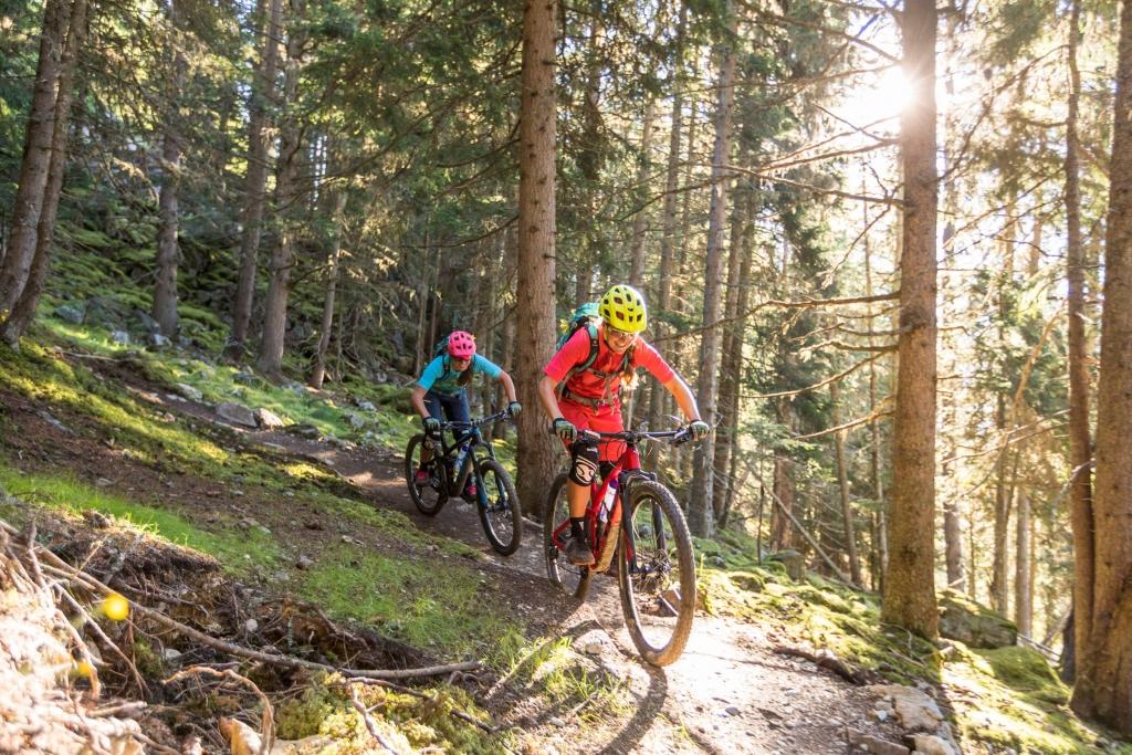 Singletrail in Tirol - Frommes Trail © WOM Medien