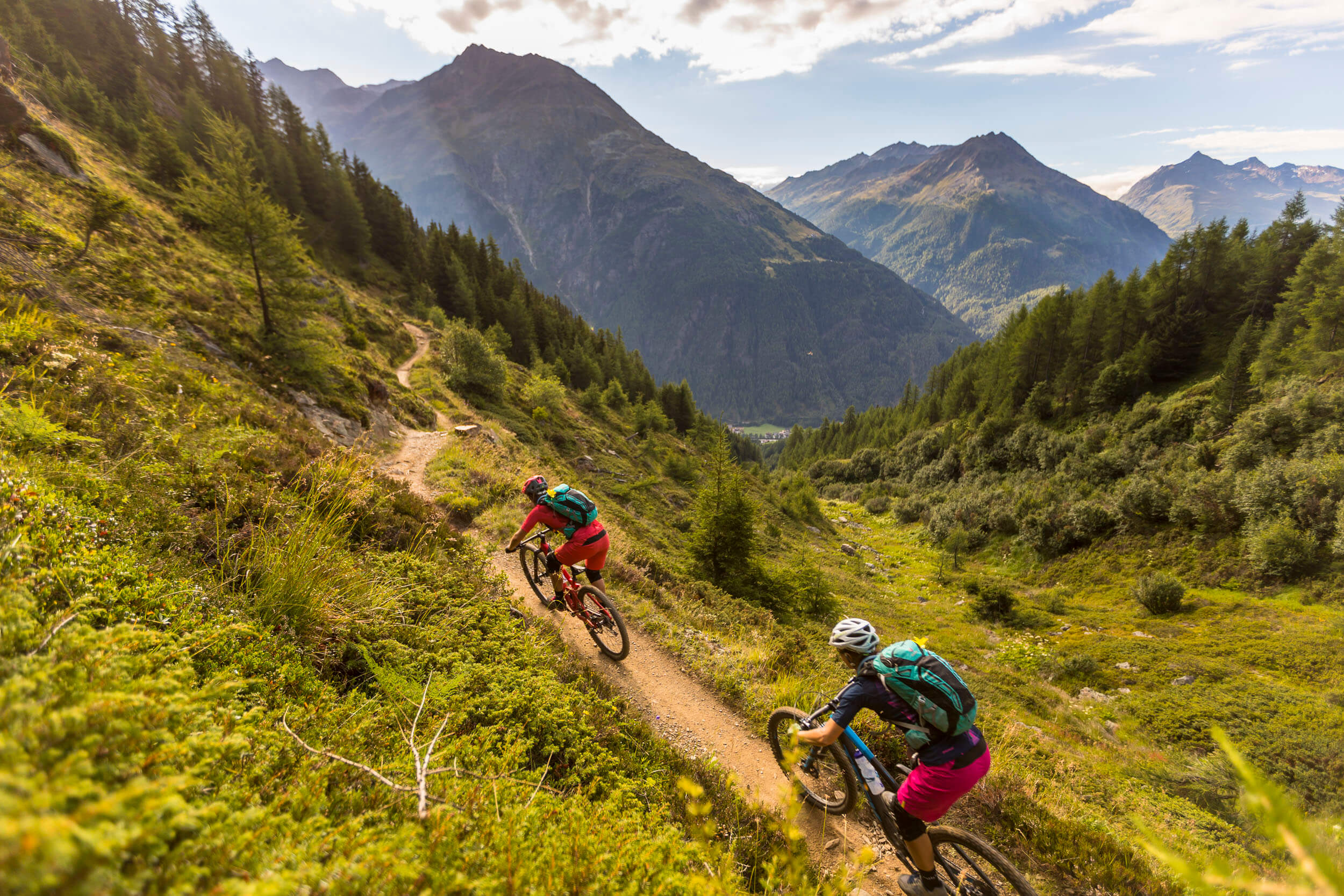 Naturtrail - Leiterberg Trail im Ötztal © WOM Medien