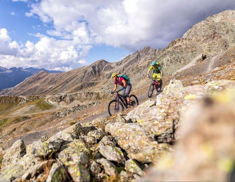 Velill Trail in der MTB Arena Ischgl © WOM Medien