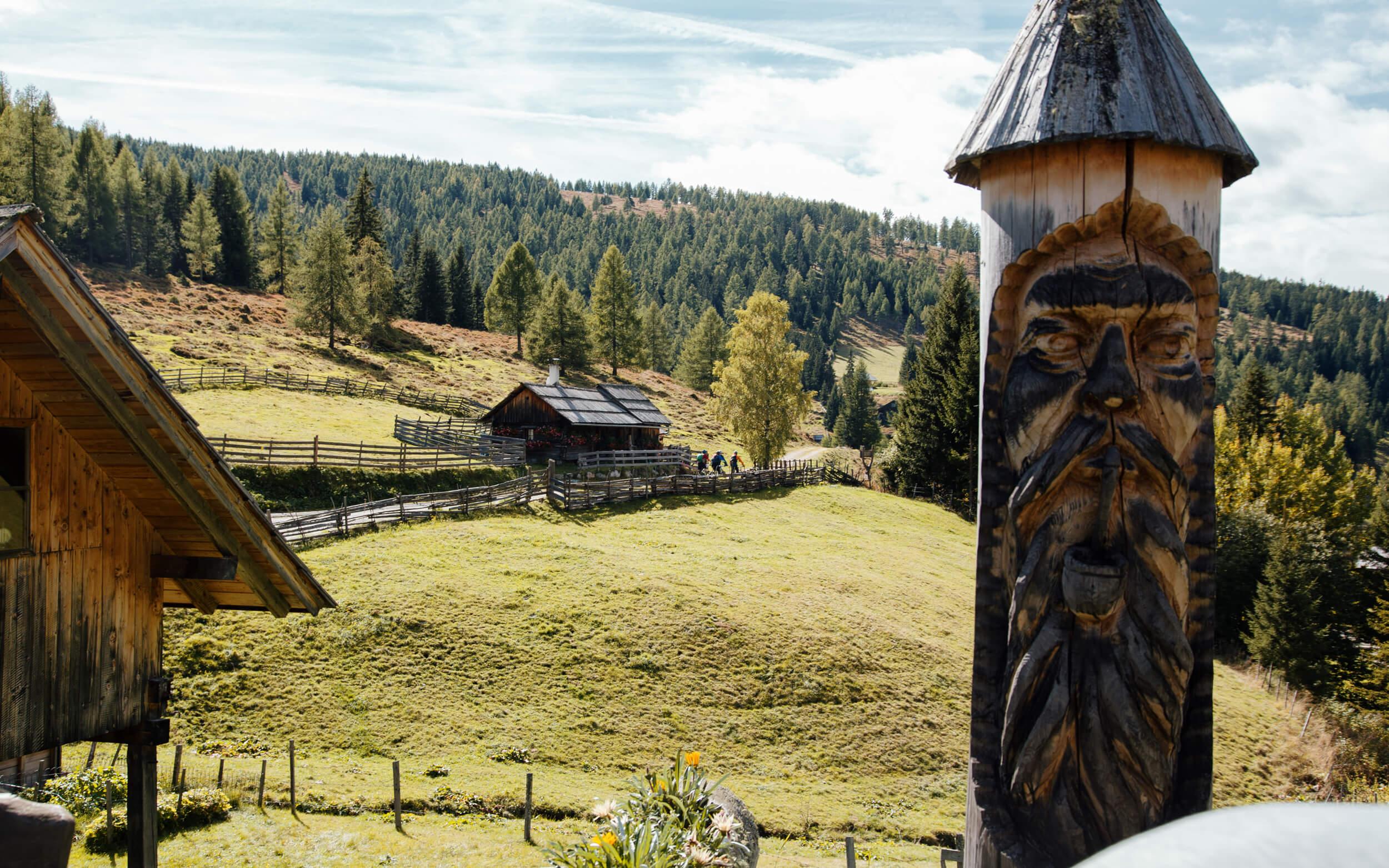 Alter Almweg Trail in Bad Kleinkirchheim