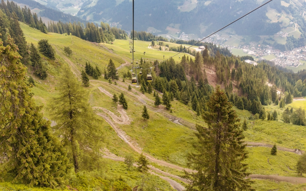 Singletrail Grossarltal im Salzburger Land