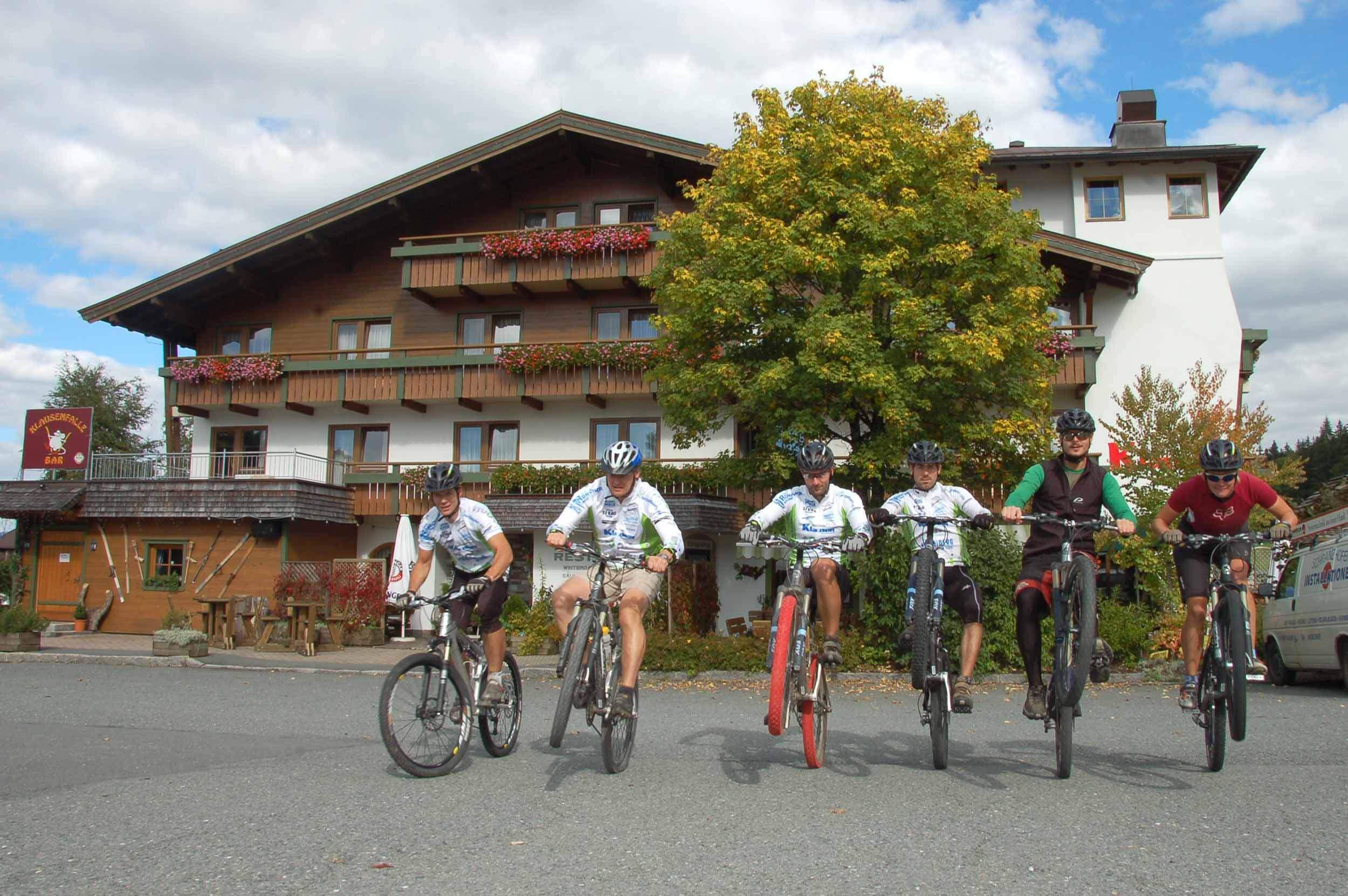 Bikehotel Klausen in den Kitzbüheler Alpen