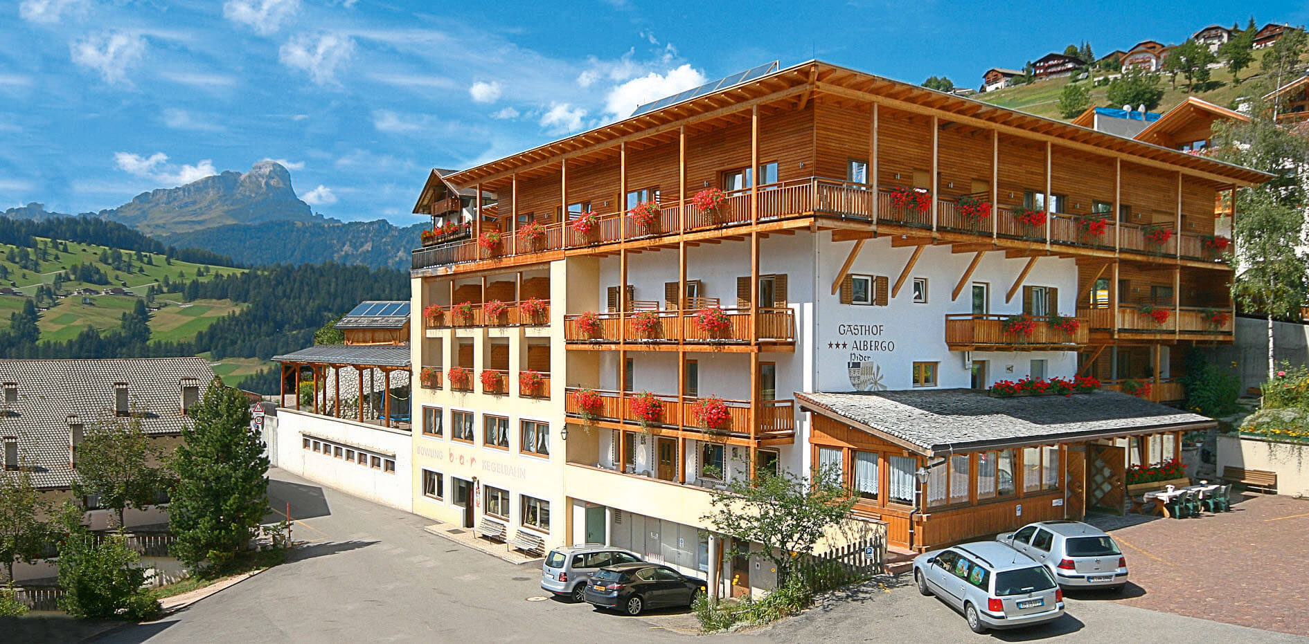 Hotel Pider in Alta Badia in den Südtiroler Dolomiten