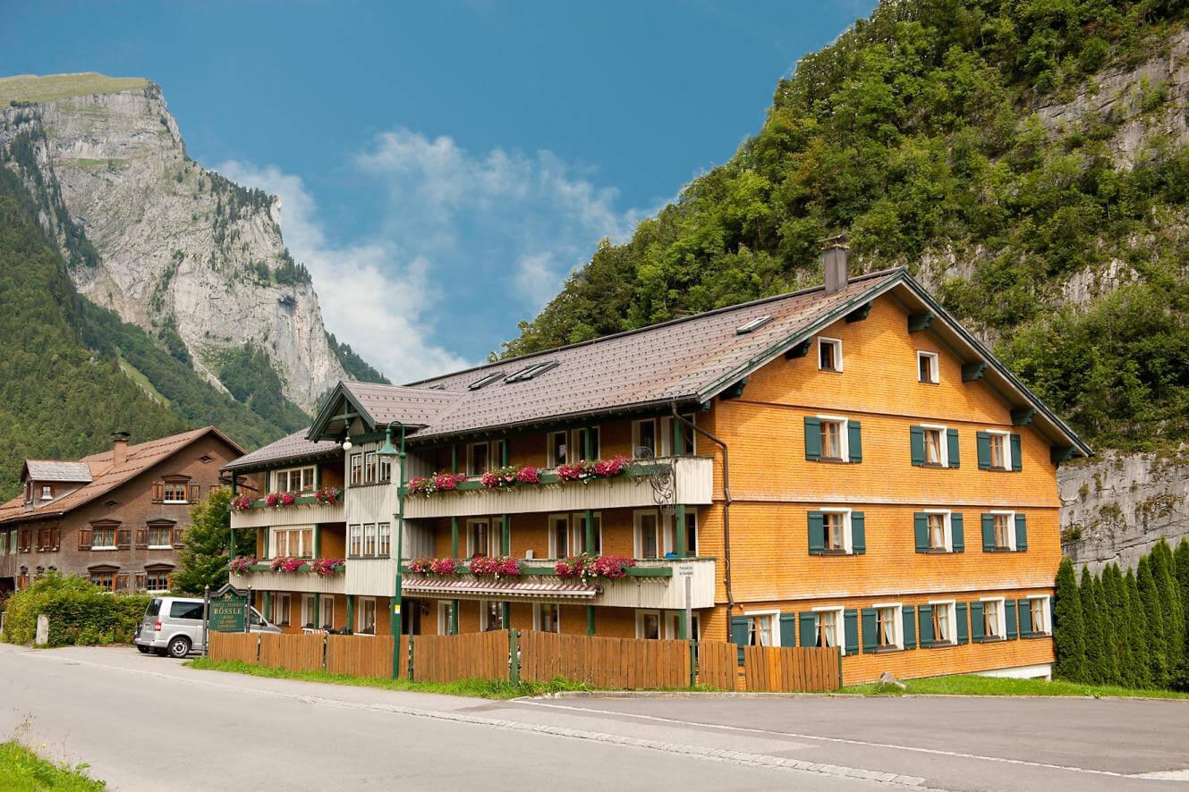 Hotel Rössle in Au im Bregenzerwald