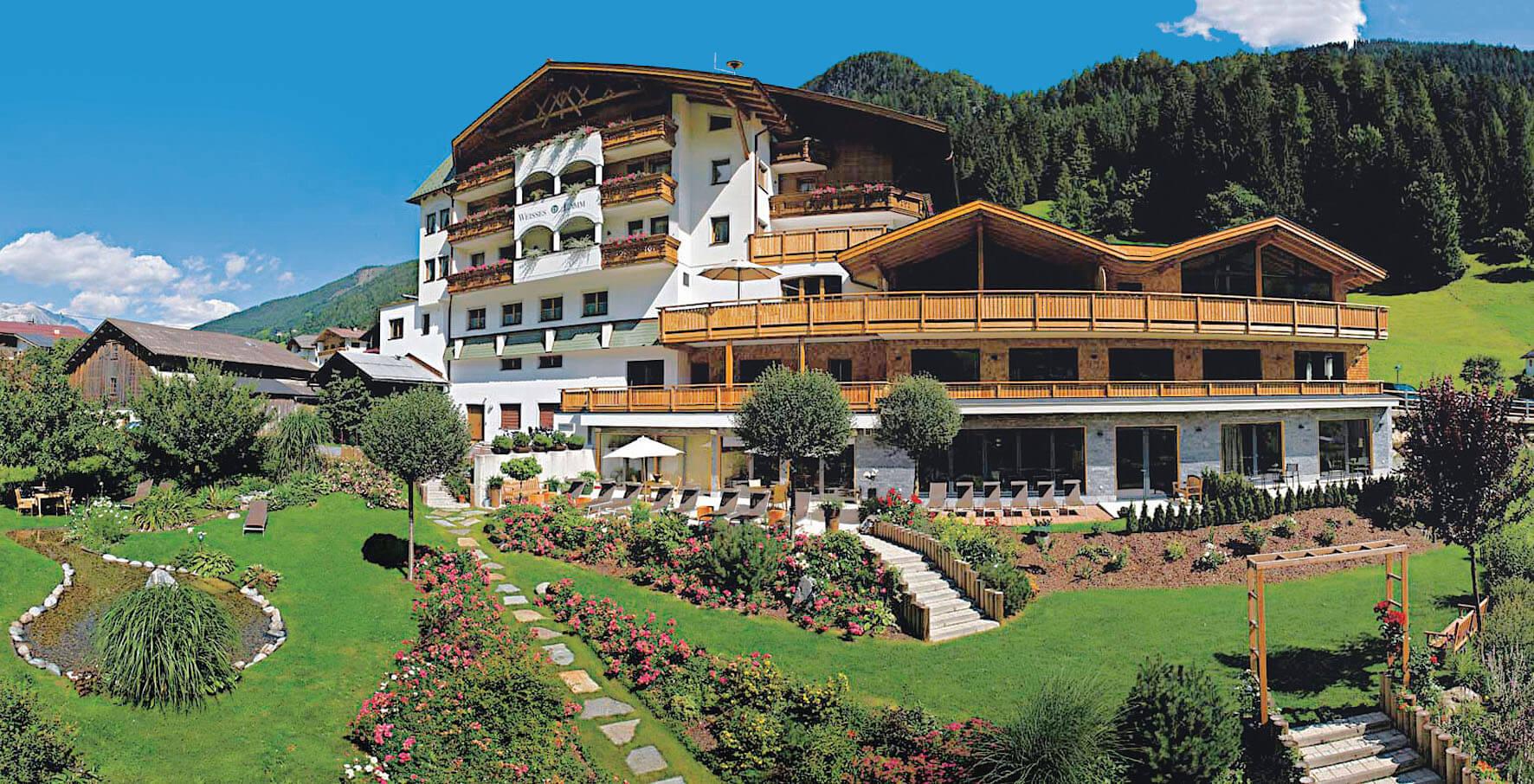 Hotel Weisses Lamm in See in Tirol