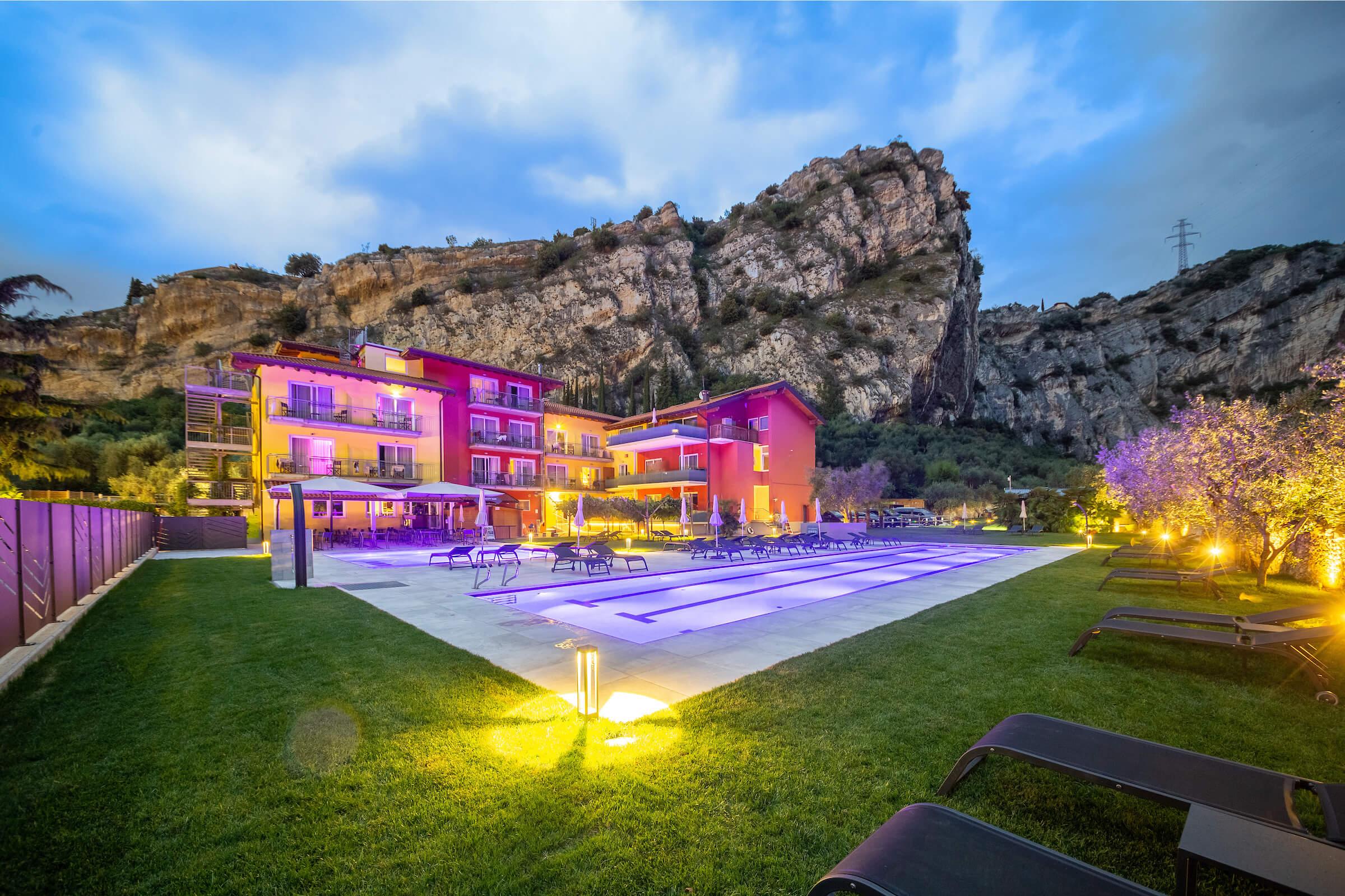 Hotel Santalucia in Torbule sul Garda