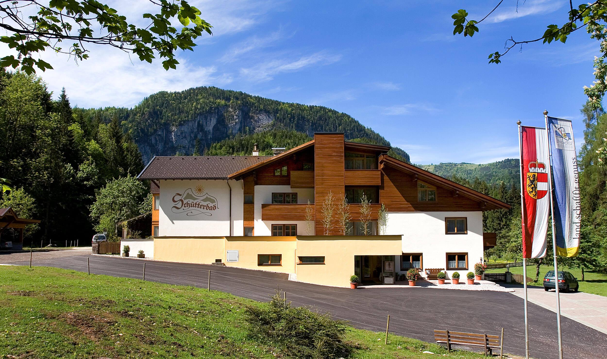 Hotel Schütterbad im Salzburger Saalachtal