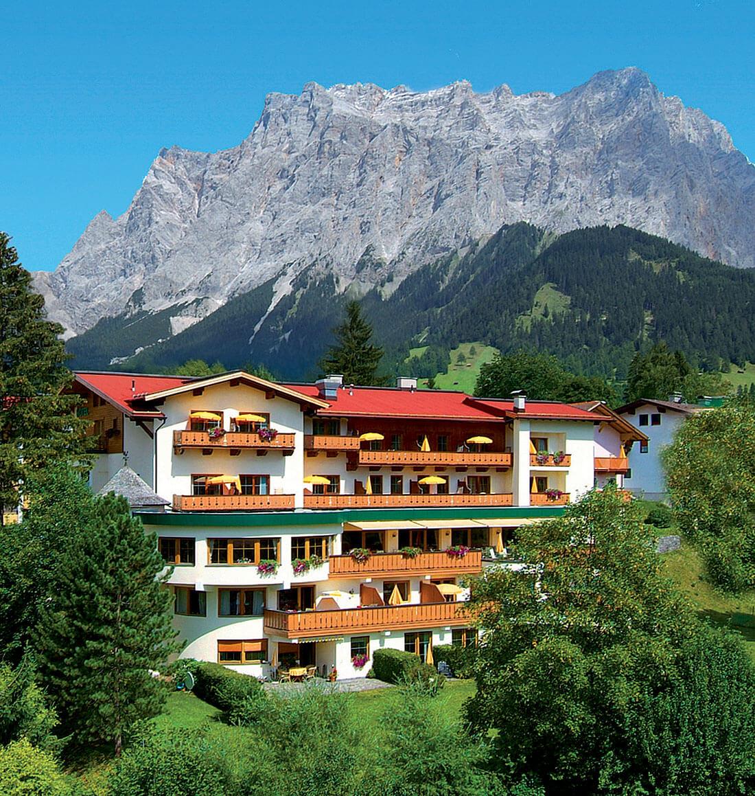 Hotel Schönruh in Ehrwald